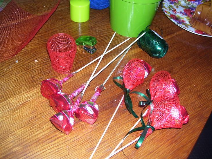 Букет из конфет своими руками пошаговое фото для свадьбы