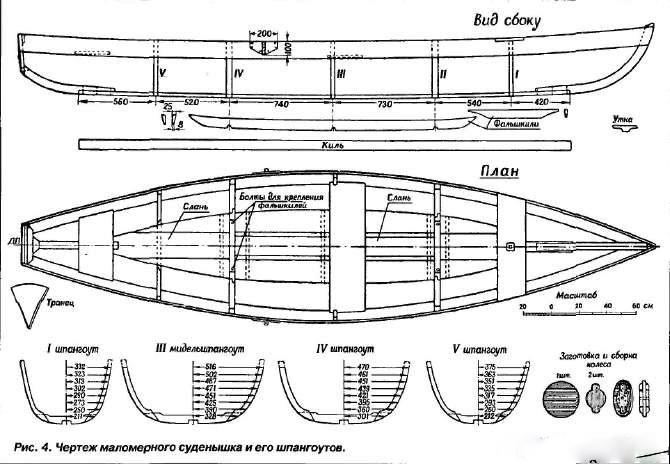 Лодки своими руками чертежи фото