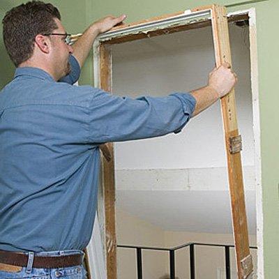 Как сделать двери и косяки