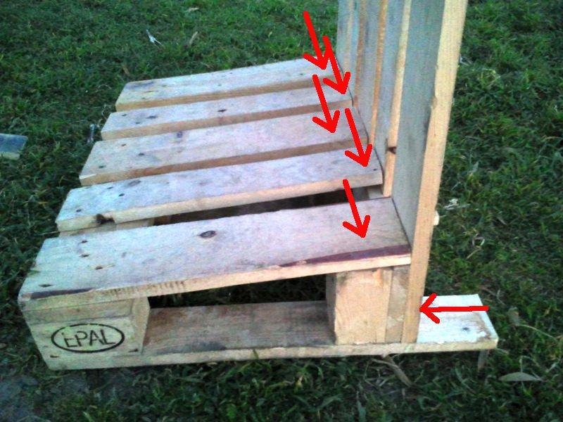 Как сделать скамейку со спинкой своими руками