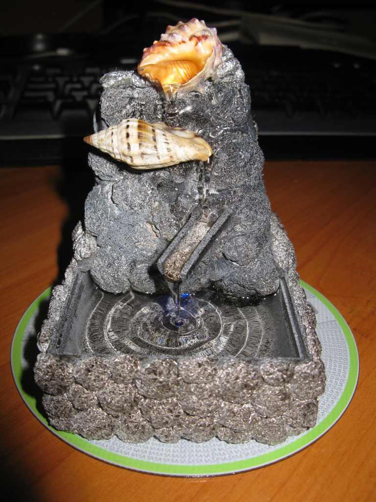Как изготовить фонтан