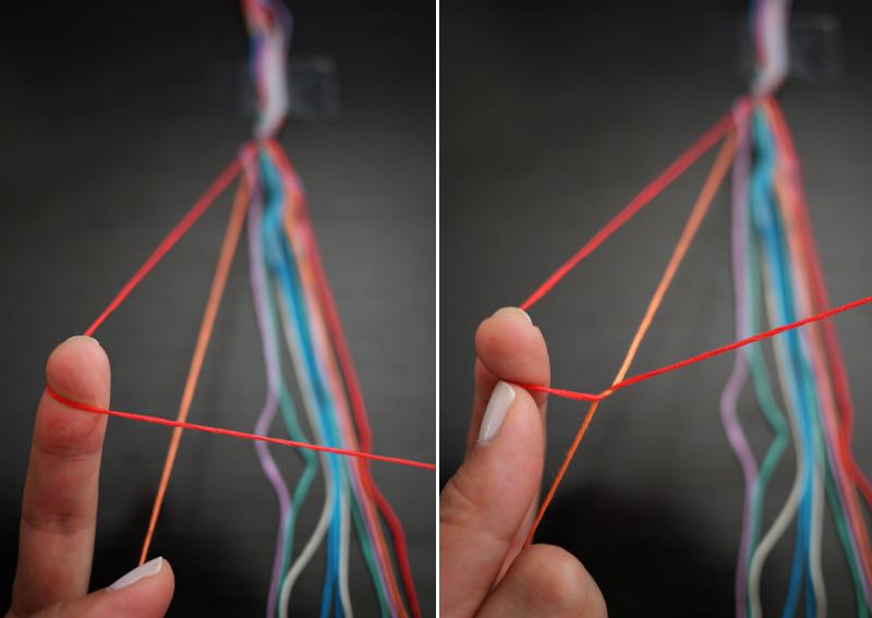 Кольцо своими руками из ниток